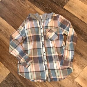 Buckle flannel